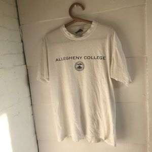 Vintage oversized Allegheny College T-Shirt